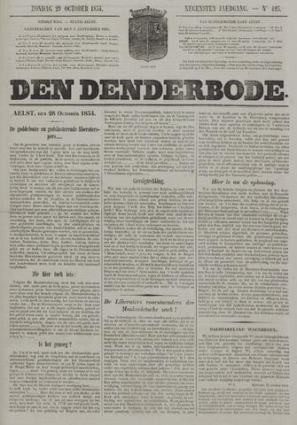 De Denderbode 1854-10-29