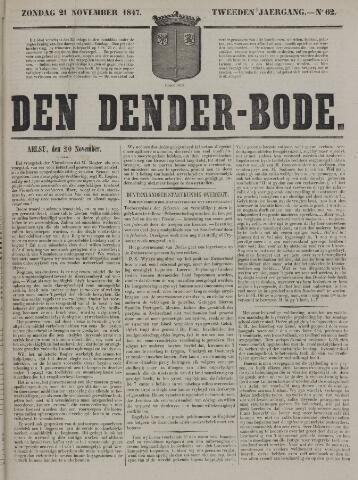 De Denderbode 1847-11-21
