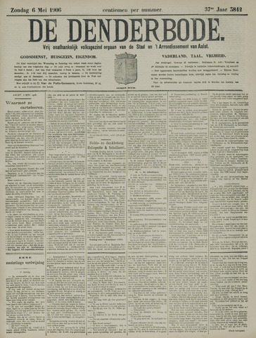 De Denderbode 1906-05-06