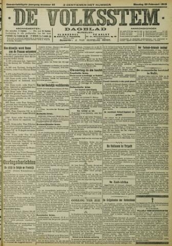 De Volksstem 1915-02-23