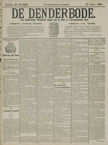 De Denderbode 1895-07-28