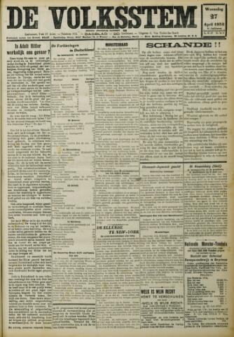 De Volksstem 1932-04-27