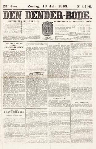 De Denderbode 1869-07-18