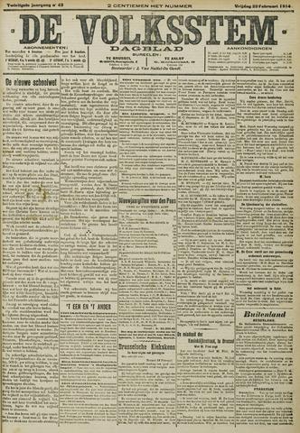 De Volksstem 1914-02-20
