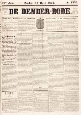 De Denderbode 1872-03-31