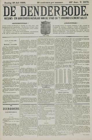 De Denderbode 1888-07-29