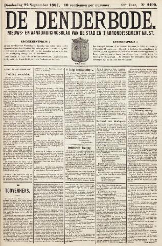 De Denderbode 1887-09-22