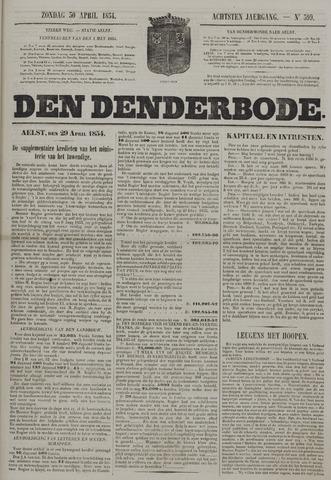 De Denderbode 1854-04-30