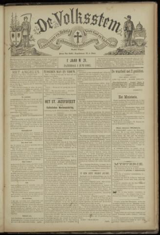 De Volksstem 1895-06-01
