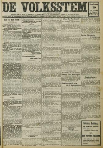De Volksstem 1930-01-30