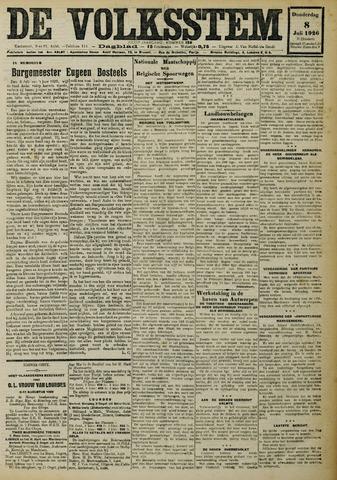 De Volksstem 1926-07-08