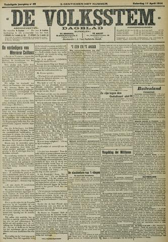De Volksstem 1914-04-11