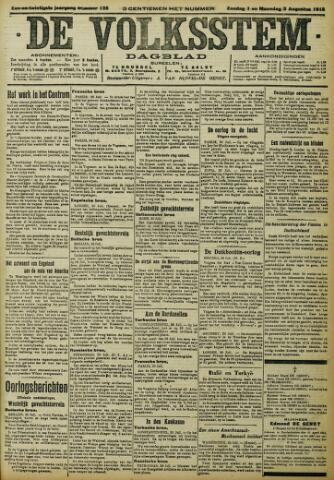 De Volksstem 1915-08-01