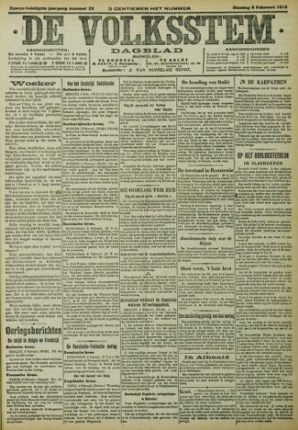 De Volksstem 1915-02-09