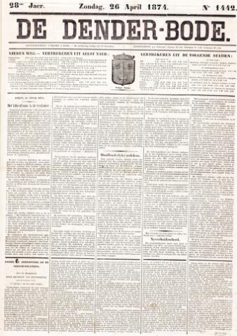 De Denderbode 1874-04-26