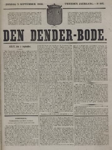 De Denderbode 1848-09-03
