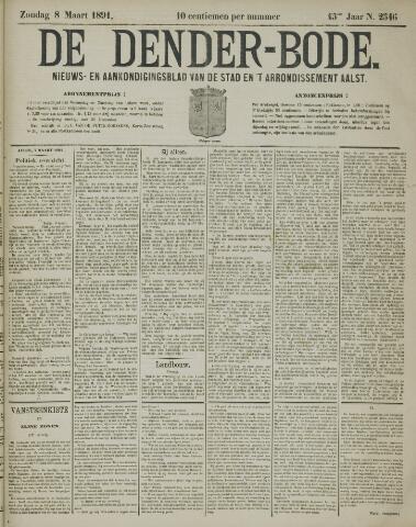De Denderbode 1891-03-08
