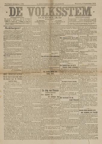 De Volksstem 1914-09-02