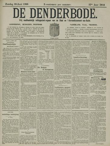 De Denderbode 1906-06-10