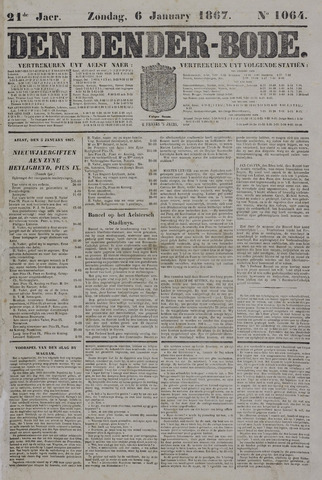 De Denderbode 1867