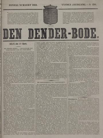 De Denderbode 1851-03-30