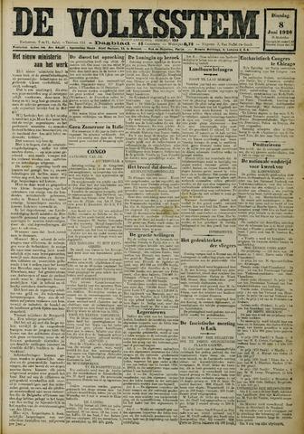 De Volksstem 1926-06-08