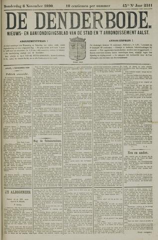 De Denderbode 1890-11-06