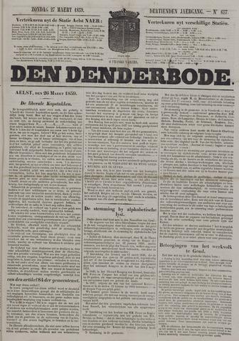 De Denderbode 1859-03-27
