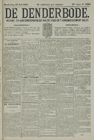 De Denderbode 1891-07-23