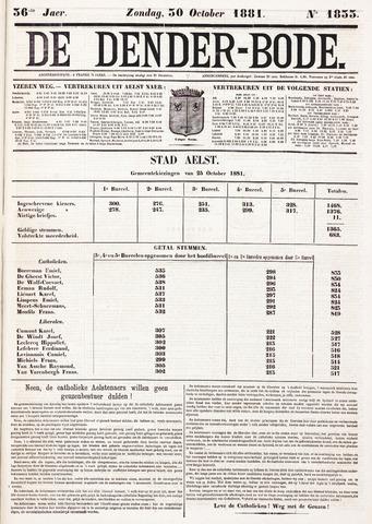 De Denderbode 1881-10-30