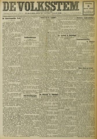 De Volksstem 1923-10-06