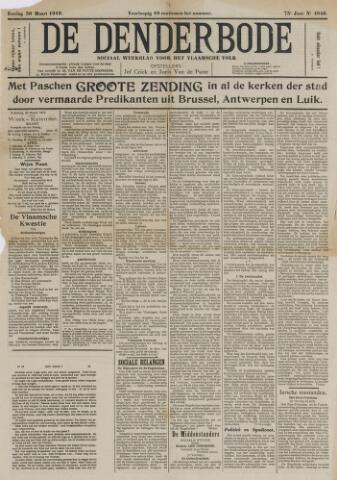 De Denderbode 1919-03-30