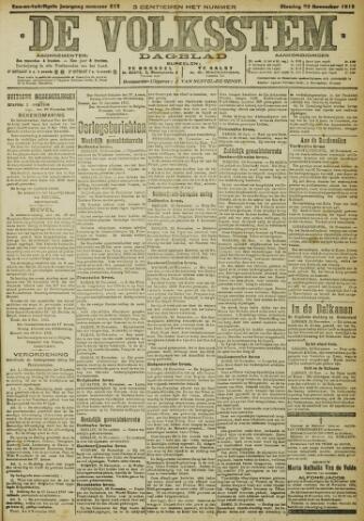 De Volksstem 1915-11-23
