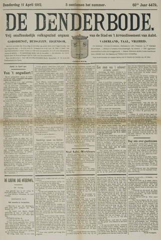 De Denderbode 1912-04-11