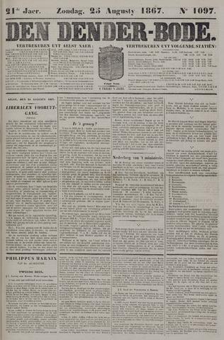 De Denderbode 1867-08-25