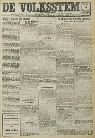 De Volksstem 1931-06-05