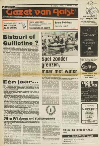 Nieuwe Gazet van Aalst 1983-05-27