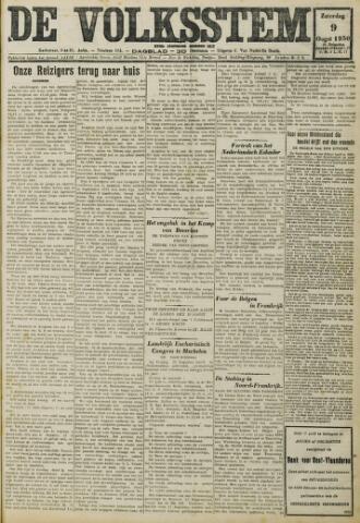 De Volksstem 1930-08-09