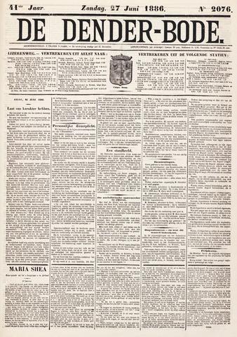 De Denderbode 1886-06-27
