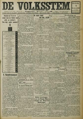 De Volksstem 1926-10-07