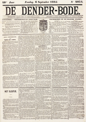 De Denderbode 1885-09-06