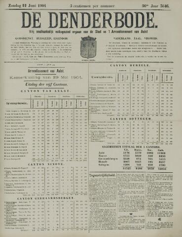 De Denderbode 1904-06-12