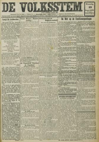 De Volksstem 1931-08-19