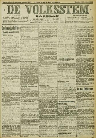 De Volksstem 1915-10-12