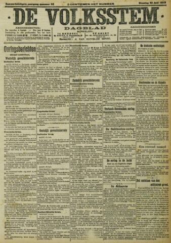 De Volksstem 1915-06-22