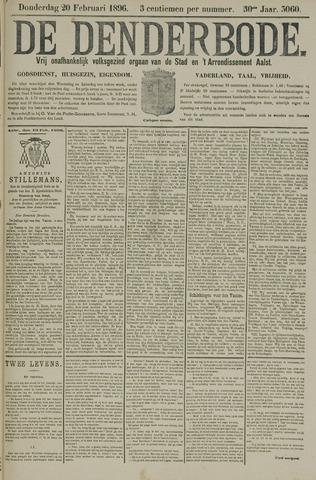 De Denderbode 1896-02-20