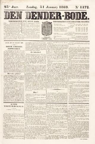 De Denderbode 1869-01-31
