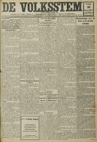 De Volksstem 1931-03-20