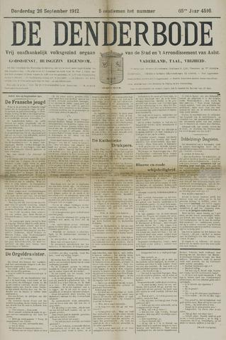 De Denderbode 1912-09-26
