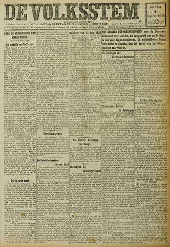 De Volksstem 1923-09-01